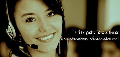 Telefonansagen audio marketeers