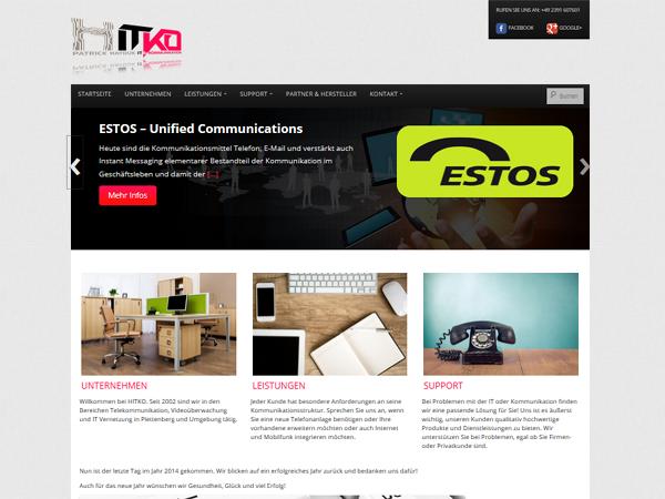 HITKO Homepage überarbeitet