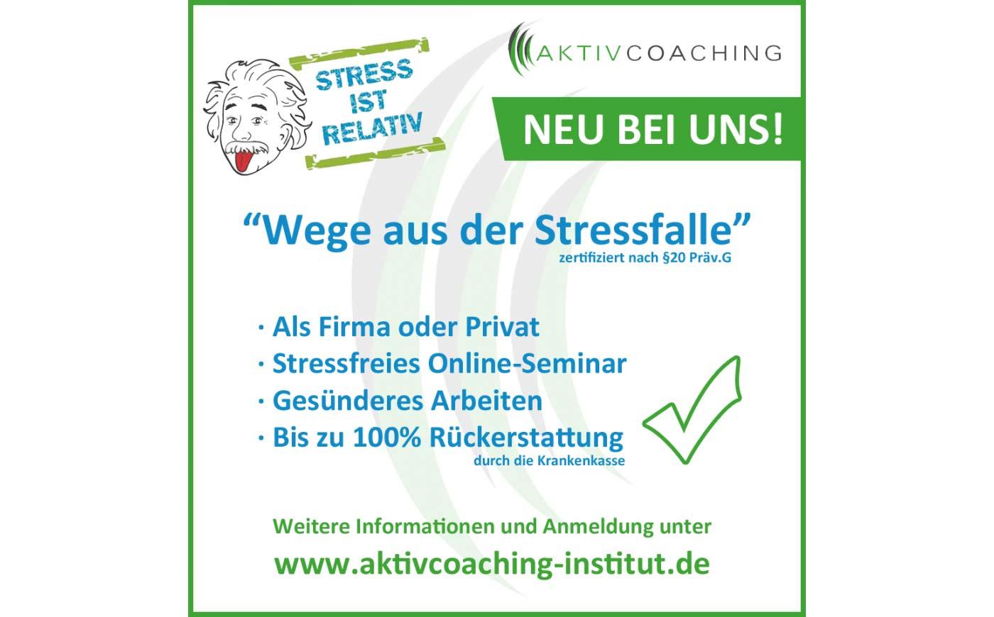 Wege aus der Stressfalle
